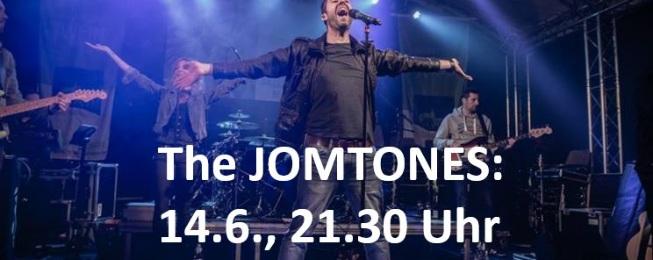 "14.06.17 - 21.30 Uhr: Die Band ""The JOMTONES"""